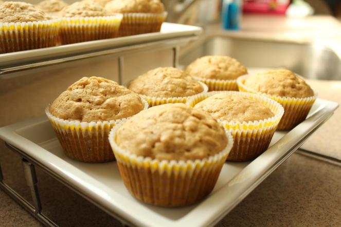 Brown Sugar Oat Muffins (4)